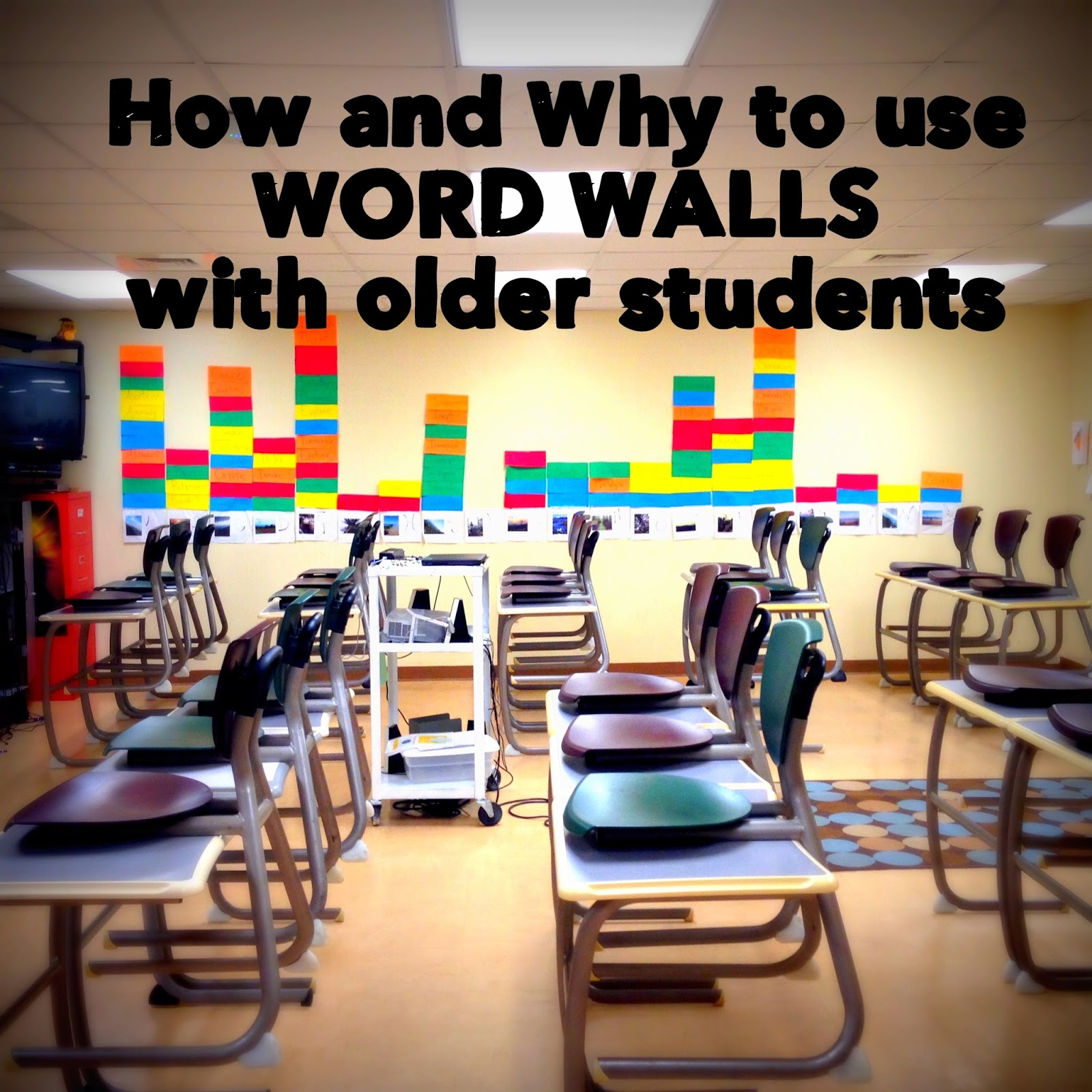 How And Why To Use Word Walls With Older Students Building Book Love