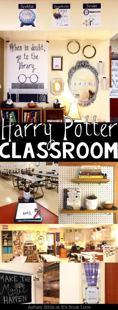 Harry Potter Ish Themed Classroom Building Book Love