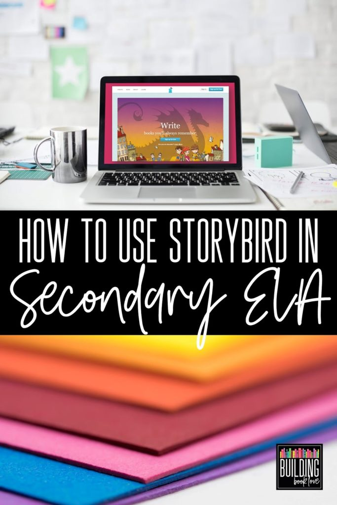 How To Use Storybird In Secondary Ela Building Book Love